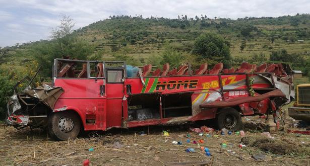 51 قتيلا في حادث حافلة في غرب كينيا وفق حصيلة جديدة