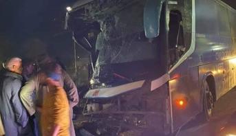 مصرع 7 أشخاص في حادثة سير وسط مصر