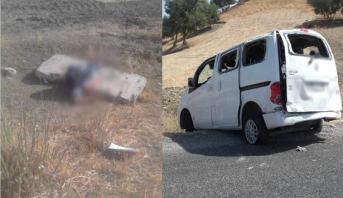 حادثة سير مميتة إثر انقلاب سيارة أجرة بإقليم تاونات