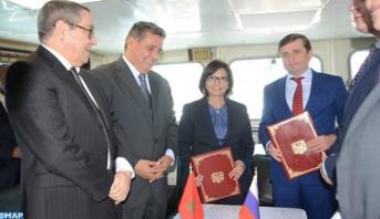 أخنوش يتباحث مع نائب الوزير الروسي للفلاحة رئيس الوكالة الفدرالية للصيد البحري