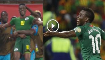 فيديو .. هدف عالمي من تسديدة صاروخية يهدي بوركينافاسو المركز الثالث على حساب غانا