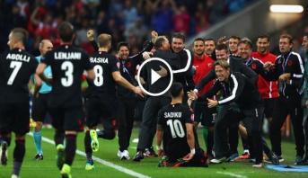 فيديو .. ألبانيا تهزم رومانيا وتبقي على آمالها في التأهل وفرنسا تعادل أمام سويسرا