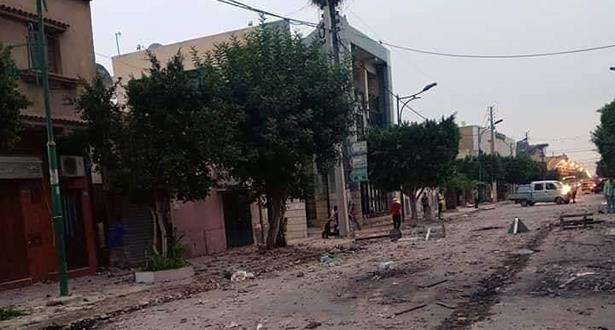 الجزائر .. قتيلان على الأقل في اشتباكات عنيفة مع الشرطة بغليزان