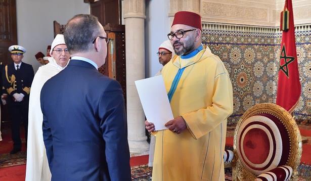Le Roi Mohammed VI reçoit plusieurs ambassadeurs étrangers
