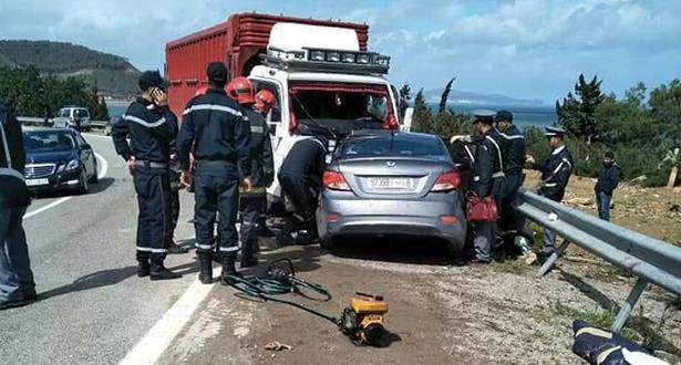 Accidents de la circulation: 29 morts et 1.935 blessés en périmètre urbain durant la semaine dernière