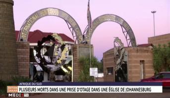 Afrique du Sud: plusieurs morts dans une prise d'otage dans une église de Johannesbourg