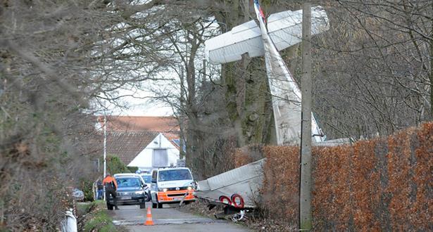 بلجيكا .. مصرع شخصين في حادث تحطم طائرة خاصة