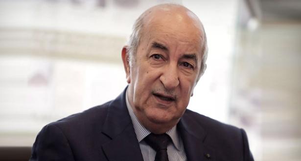 Algérie: le Président Tebboune s'adresse aux médias