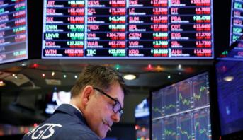 """الأسهم الأمريكية تتراجع متأثرة بأزمة شركة """"هواوي"""""""