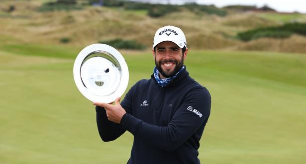 Golf: L'Espagnol Adrian Otaegui remporte le Scottish Championship