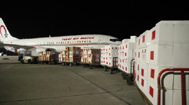 COVID-19: très hautes instructions royales pour l'envoi d'une aide médicale à plusieurs pays africains