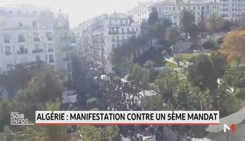Algérie: manifestation contre un 5ème mandat de Bouteflika