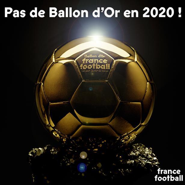 فرانس فوتبول تعلن عدم منح جائزة الكرة الذهبية لعام 2020