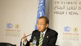 """الأمم المتحدة تشيد بإعلان مراكش الذي يعد بمثابة """"دعم قوي"""" لاتفاق باريس"""