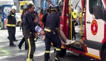وزير الداخلية بكاتالونيا  : مصرع 13 شخصا وإصابة العشرات في حادث الدهس بشاحنة
