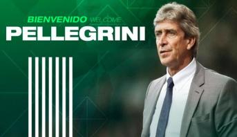 بيليغريني مدربا جديدا لنادي ريال بيتيس الإسباني