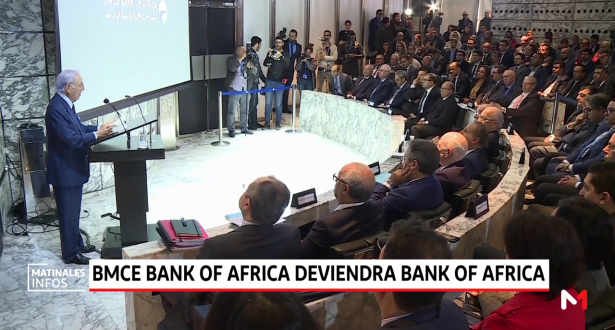 BMCE Bank of Africa deviendra Bank of Africa