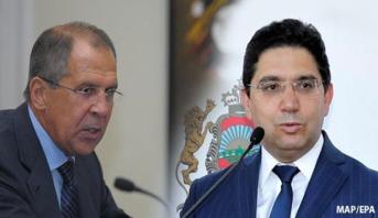 Bourita et Lavrov marquent l'exemplarité des relations maroco-russes