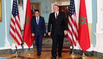 بوريطة وبومبيو يتفقان على عقد الدورة المقبلة للحوار الاستراتيجي المغرب-الولايات المتحدة السنة المقبلة بواشنطن