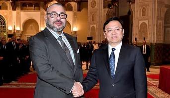 """الملك محمد السادس يترأس حفل تقديم مشروع إنجاز المجموعة الصينية """"بي. واي. دي أوطو إنداستري"""" لمنظومة صناعية للنقل الكهربائي بالمغرب"""