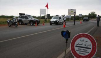Covid-19: renforcement des mesures de contrôle aux entrées et sorties de Khénifra et M'rirt