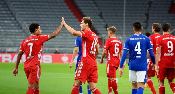 Le Bayern atomise Schalke 8-0 en ouverture de la Bundesliga