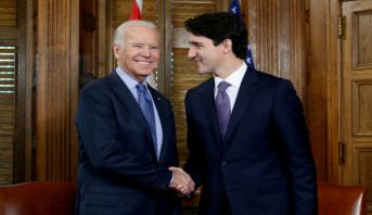 Canada: première rencontre Trudeau-Biden le mois prochain
