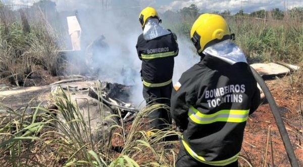 مصرع أربعة لاعبين برازيليين جراء تحطم طائرتهم بعد دقائق من إقلاعها