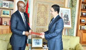 بوريطة يستقبل وزير خارجية غينيا الإستوائية حاملا رسالة إلى الملك محمد السادس