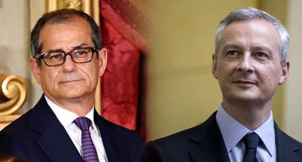 """""""أكواريوس"""" تتسبب في إلغاء لقاء وزير الاقتصاد الإيطالي بنظيره الفرنسي"""