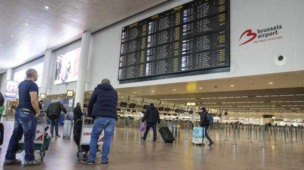 Tempête Ciara: une soixantaine de vols annulés à l'aéroport de Bruxelles
