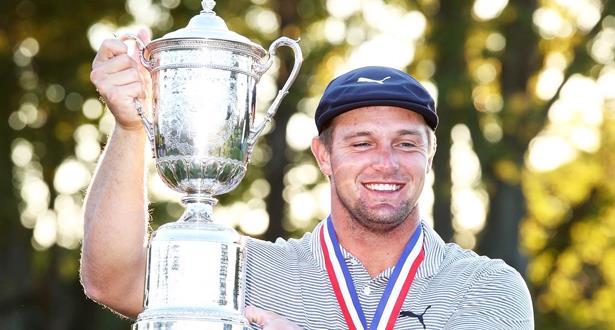 Golf: l'Américain Bryson DeChambeau remporte l'US Open