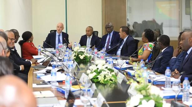 Première réunion du comité conjoint CAF/FIFA