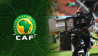 """رسميا .. """"الكاف"""" يفسخ التعاقد مع الشركة الراعية لحقوق البث التلفزي للبطولات الإفريقية"""