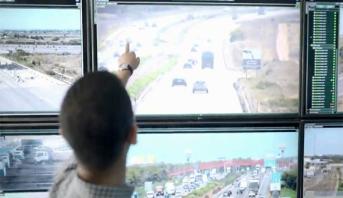 كاميرات مراقبة الطرق السيارة تمكن من الاطلاع على الحركة وترصد انفلاتات وحوادث