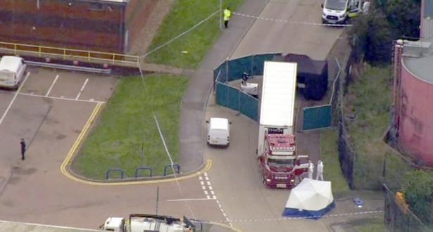 39 corps découverts dans un camion en Grande Bretagne