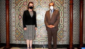 سفيرة كندا بالرباط تشيد بتضامن المملكة مع البلدان الإفريقية لمواجهة وباء كورونا وكذا وقوفها إلى جانب لبنان