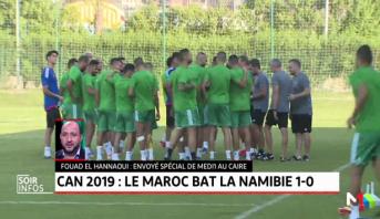 CAN: le Maroc bat la Namibie et prend provisoirement la tête du groupe D
