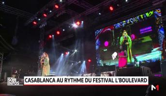 Casablanca au rythme du festival L'Boulevard