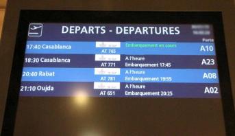 مرتبة متقدمة للخط الجوي الدار البيضاء - باريس أورلي ضمن حركة النقل الجوي الدولي خلال ماي 2017