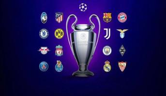 النتائج الكاملة لقرعة دور الـ 16 لدوري أبطال أوروبا .. مواجهات قوية