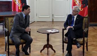 Le président chilien reçoit en audience Nasser Bourita, porteur d'un message du Roi Mohammed VI