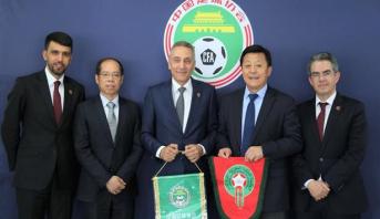 المغرب يروج لملف تنظيم مونديال 2026 في الصين