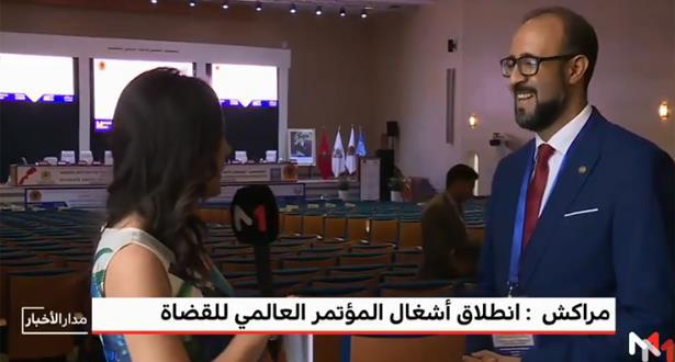 حوار مع محمد الخضراوي نائب رئيس الودادية الحسنية للقضاة على هامش المؤتمر الدولي الـ 61 للقضاة