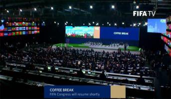 FIFA: Ouverture à Moscou des travaux du 68e congrès où doit être attribué le Mondial-2026