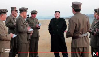 """كوريا الشمالية تختبر سلاحا """"عالي التقنية"""""""