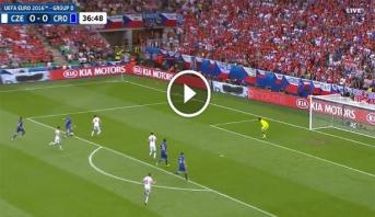 """فيديو .. """"بيريستش"""" يفتتح التسجيل لكرواتيا من خارج منطقة الجزاء أمام التشيك"""