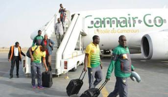 Cameroun: les Lions indomptables en route pour l'Egypte