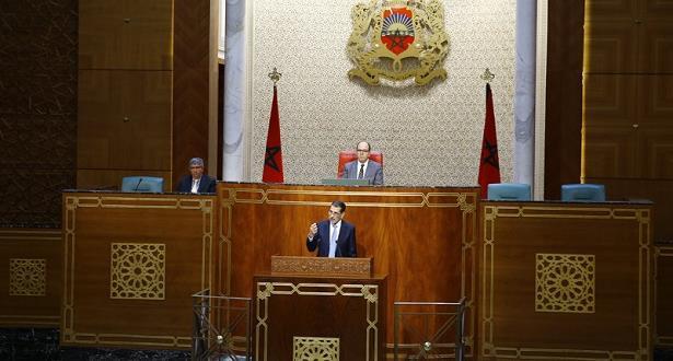 جلسة عمومية بمجلس المستشارين لتقديم رد رئيس الحكومة على الأسئلة المتعلقة بالسياسة العامة