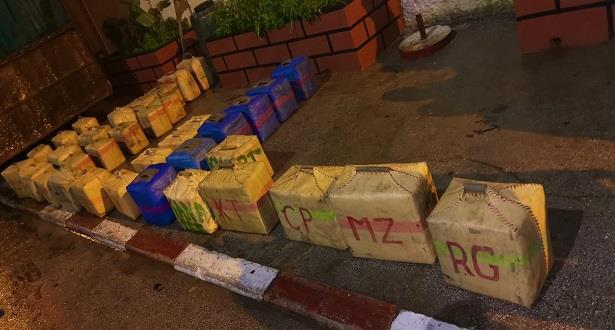 Kénitra: mise en échec d'une opération de trafic de 1,120 tonne de chira